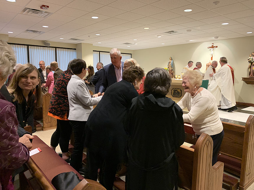 Father Price Society celebrates annual Mass
