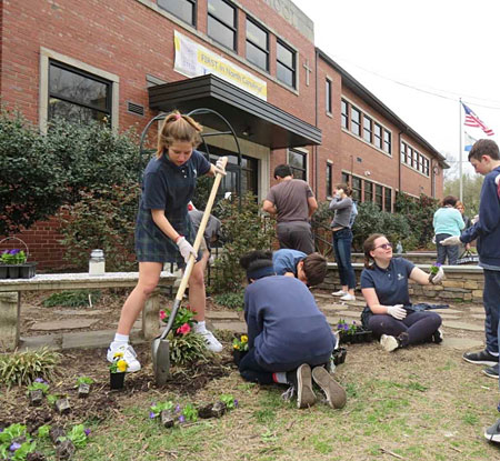 Immaculata Catholic School is named U.S. Department of Education Green Ribbon School