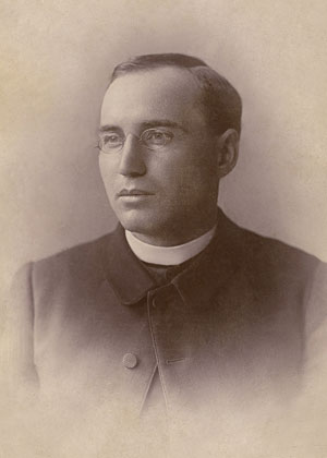 Photos of Fr. Price through the years.