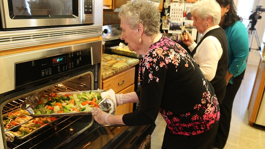 "Care taker, meal maker: Rose Mary Semenza is affectionately known as ""mother to the priests"""