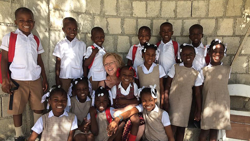 A Ripple Effect: Local teacher becomes a hero in Haiti