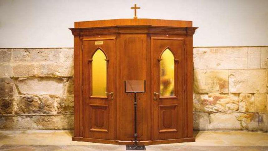 Confessional. Credit: Ivan U / Shutterstock