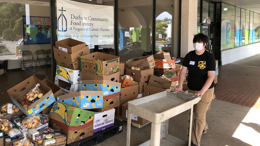Durham Community Food Pantry and Reverend Joseph G. Vetter Family Enrichment Center marks first anniversary
