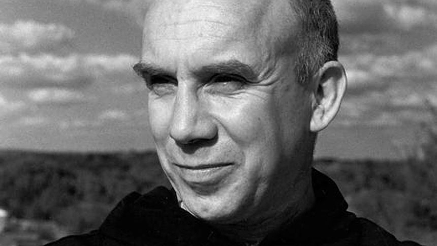 Trappist Father Thomas Merton, one of the most influential Catholic authors of the 20th century, is pictured in an undated photo. Devotees of the monk, who died in 1968, planned various observances of the 100th anniversary of his birth, Jan. 31. (CNS photo/Merton Legacy Trust and the Thomas Merton Center at Bellarmine University)