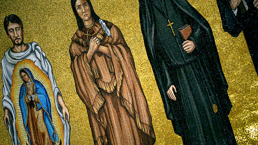 St. Kateri Tekakwitha - Feast day saint is known for prayer, ecology