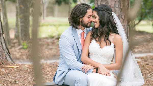 Nicco and Erica Leone were married Oct. 20 after Hurricane Florence changed their original wedding plans.