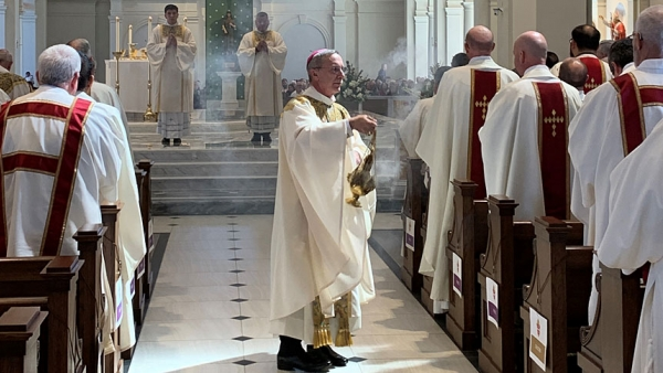 Diocese of Raleigh celebrates sacred chrism Mass