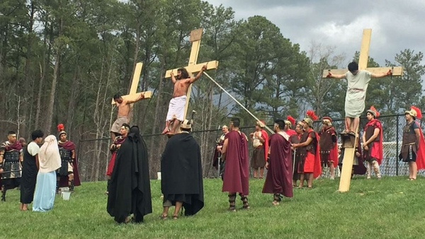 Living Stations of the Cross: An Hispanic Faith Tradition
