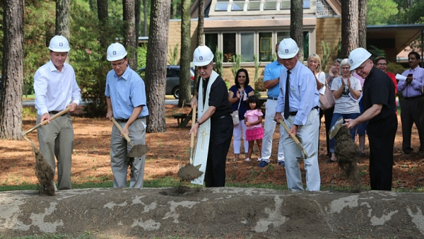 Holy Infant Parish in Durham breaks ground on new church