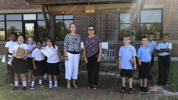 Donor Gives School $10K Gift in Honor of Former Principal