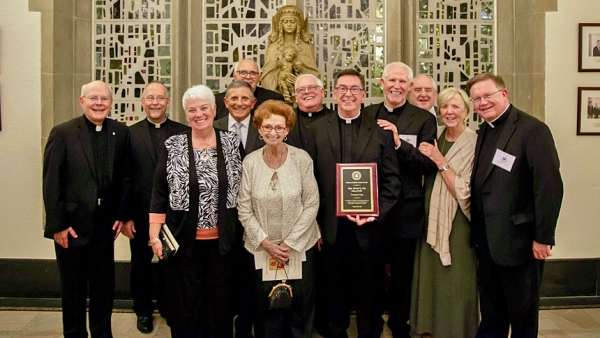 Msgr. Michael Clay wins lifetime achievement award