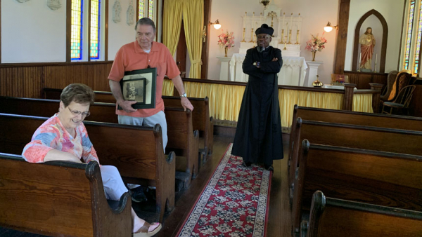 The Catholics are here: How one tiny church is an integral part of state history