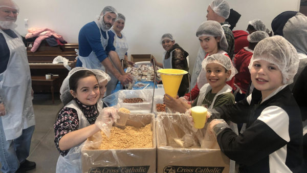 St. Joseph Church and Cross Catholic Outreach pair up to fight hunger
