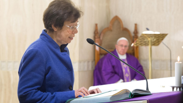 Pope appoints first woman to Vatican foreign ministry post