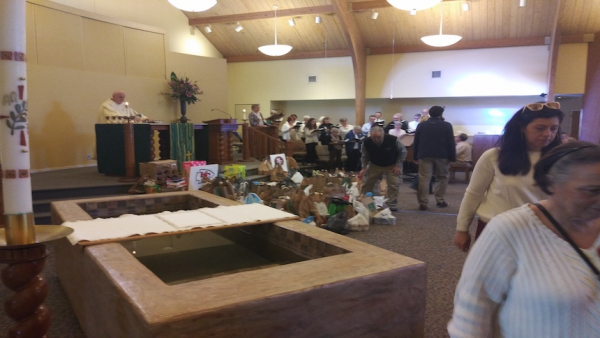 Wilmington's Souper Bowl of Caring food collection