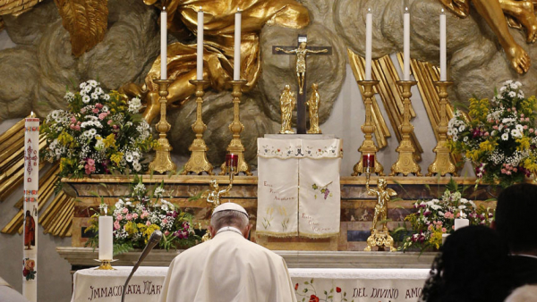 Pope shares prayer to Mary during coronavirus pandemic