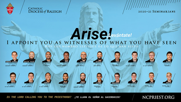 Diocese of Raleigh 2020 Seminarians