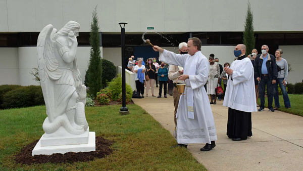 New statue honors 'protector of humanity'