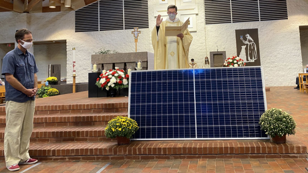 St. Francis unveils new solar project