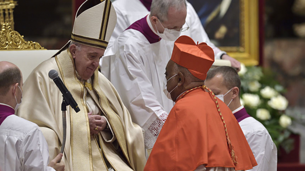 Pope creates 13 new cardinals, including Washington archbishop
