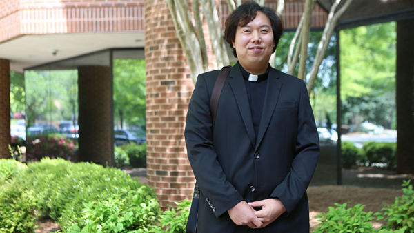 Father Heakseng Choi, St. Andrew Kim Church in Fayetteville